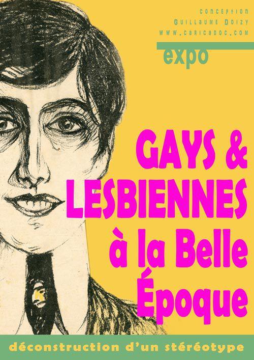 Gays et lesbiennes à la Belle Époque, déconstruction d'un stéréotype : exposition à louer (gratuite pour collèges et lycées)