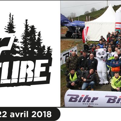 Rando moto et quad de Bihr Adventure au Domaine de la Taillade (15), le 21 et 22 avril 2018