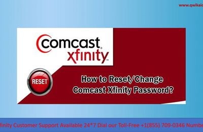 How to Reset or Change Xfinity Email Password when you Forgot Xfinity Password?