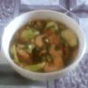 Romazava de crevettes séchées aux brèdes mafana