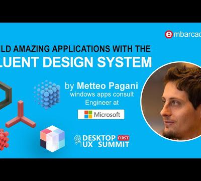 Build amazing applications with the Fluent Design System - PreviewWindows ProgrammingWindows Programming