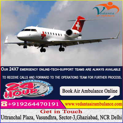Air Ambulance Service in Mumbai –Cost-Effective Fast and Fully Featured -Vedanta