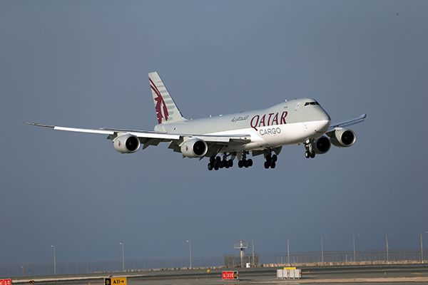 Qatar Airways Cargo aerobernie
