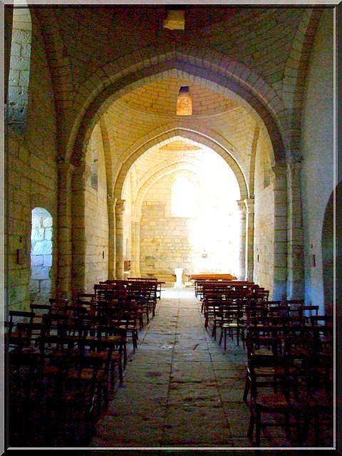 Diaporama église fortifiée de Cherval