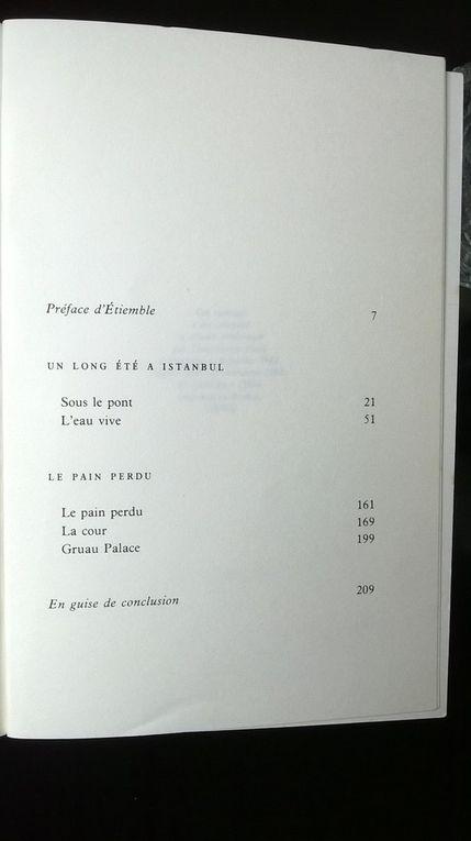 Prix de l'Académie de La Langue Turque (1976). Version française préfacée par Etiemble.