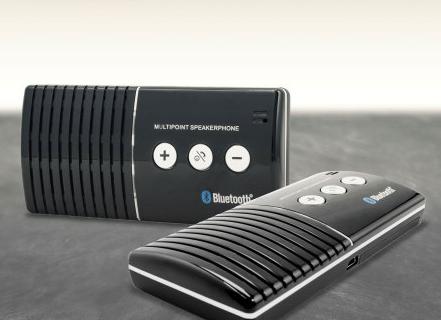 [test]  Kit Mains Libres Voiture (Bluetooth et Légal)