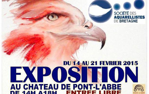 les aquarellistes bretons exposent
