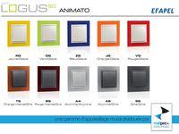 EFAPEL LOGUS 90 ( Base/Aquarella/Animato/Arbore/Petra/Crystal/Metallo) CHEZ MELPRO .