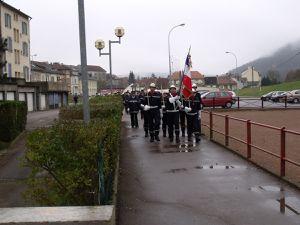 Sainte-Barbe des Sapeurs Pompiers à Algrange en 2011