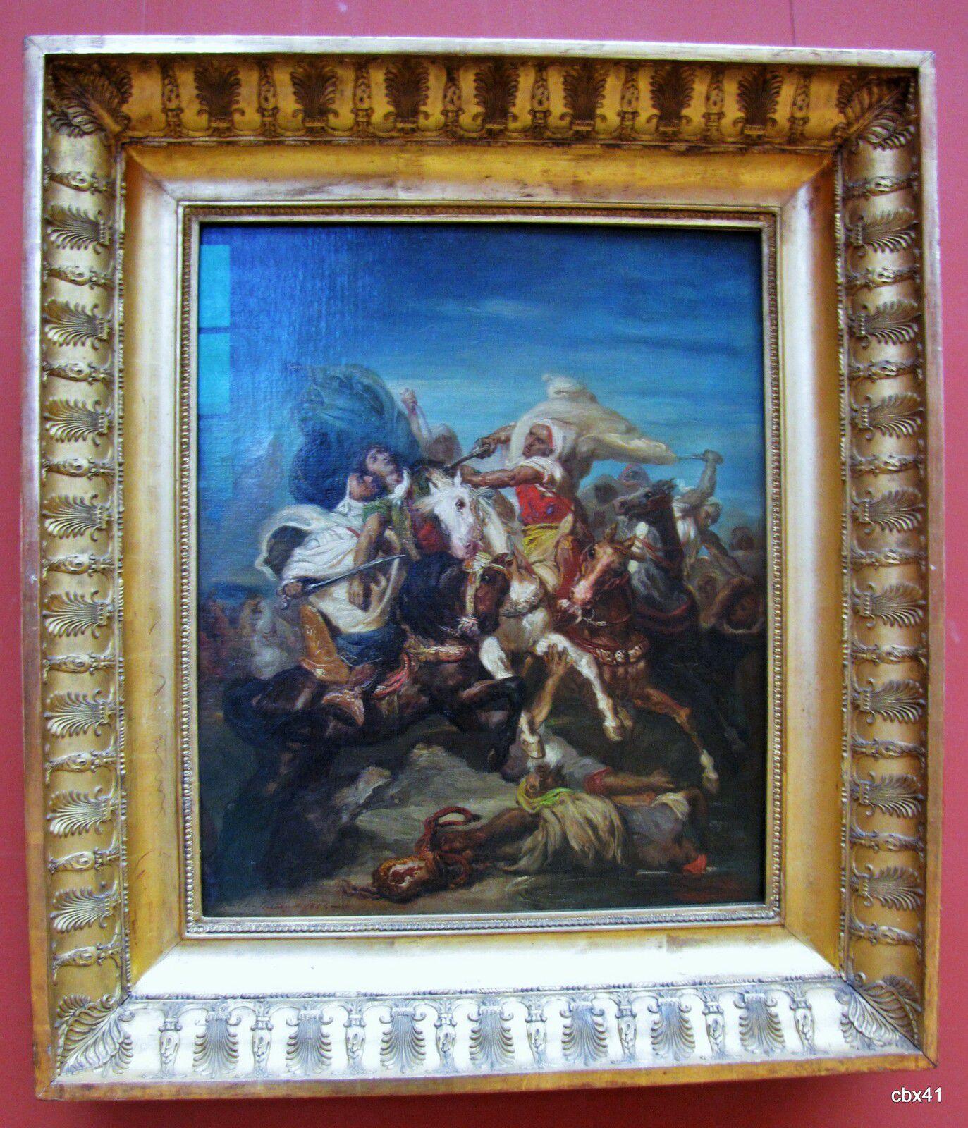 Théodore Chassériau, Combat de cavaliers arabes