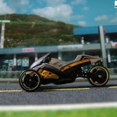 TRI & STOP ME MOTO 3 ROUES HOT WHEELS 1/64 CANAM CAN-AM - car-collector.net