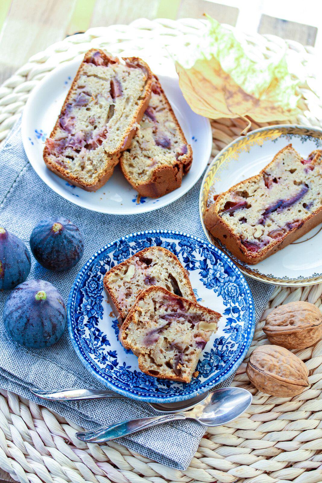 Cake aux figues et noix (Igbas)