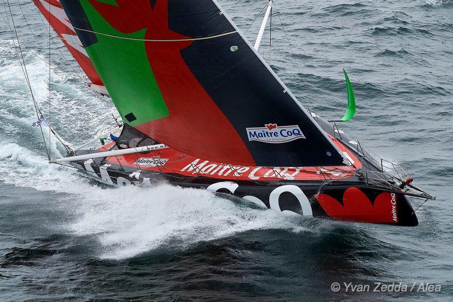 Vendée Globe – Yannick Bestaven (Maître CoQ) perd sa première place au large du Brésil