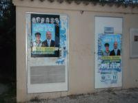 Affichage sauvage campagne cantonales: deux poids deux mesures.
