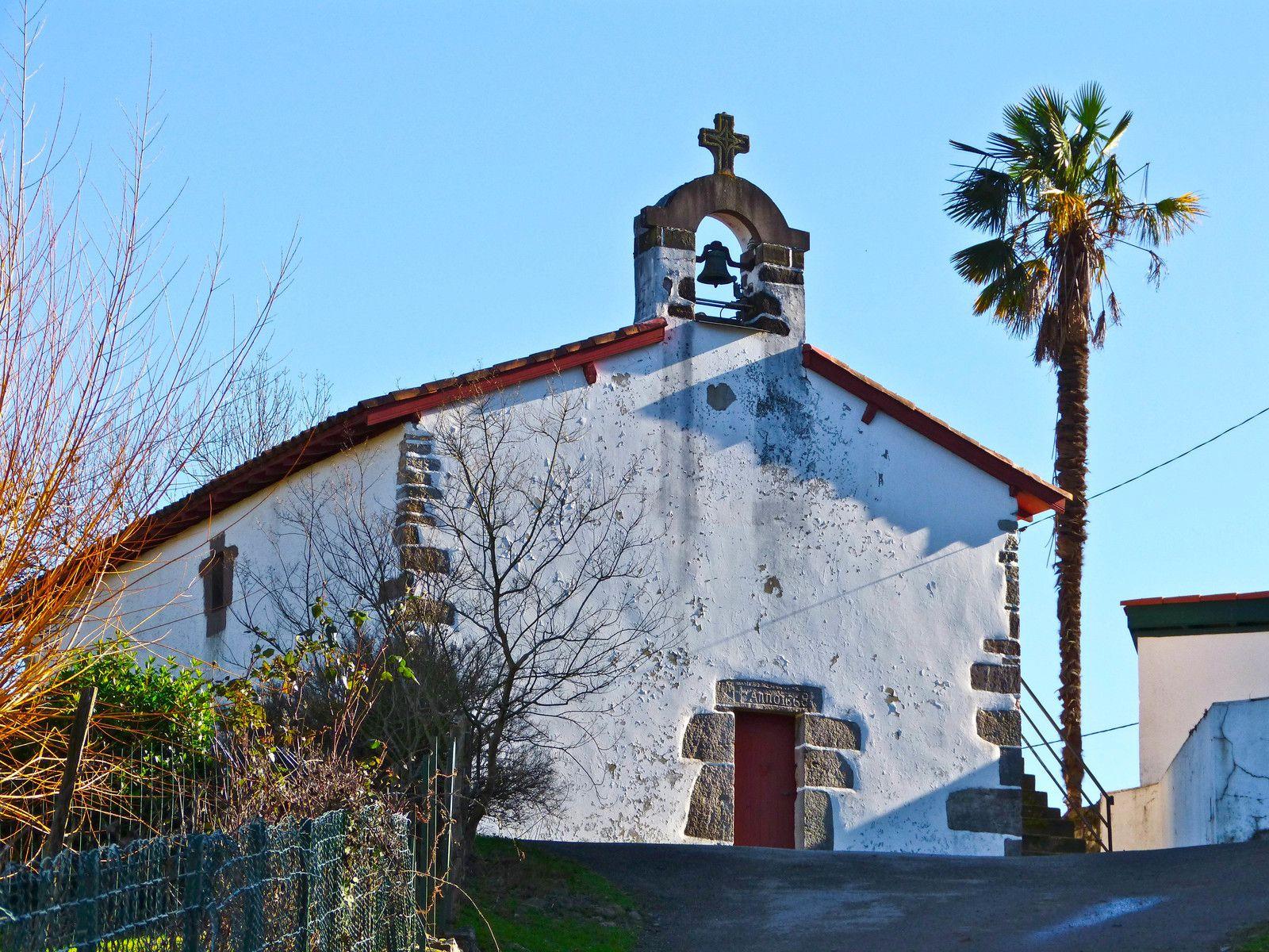 La chapelle Saint-Laurent de Guermiette