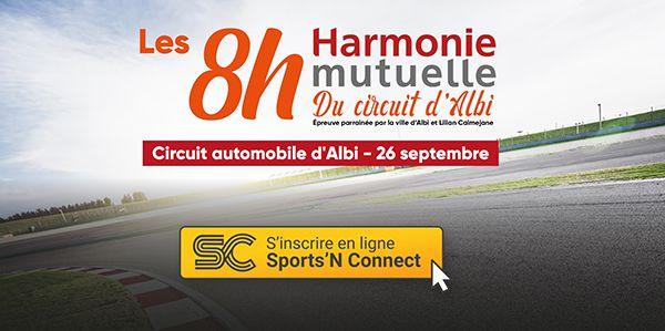 8h Harmonie Mutuelle à vélo sur le circuit Albi