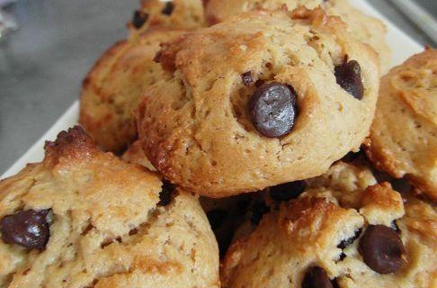 Cookies extra moelleux aux pépites de chocolat, à la Dakatine et au fromage blanc