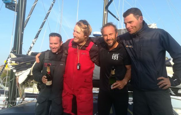 Le tandem Chappellier – Brasseur remporte la 10ème Normandy Channel Race