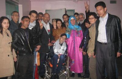Le prisonnier politique marocain Ezzedine Eroussi et cinq de ses camarades enfin libérés, dans un état de santé dramatique, la lutte continue pour les autres!