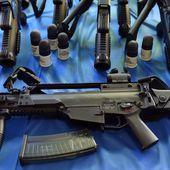 Gilets jaunes : les CRS ont bien reçu l'ordre de déployer des agents armés de fusils d'assaut HK G36 : des armes pour tuer ! - Ça n'empêche pas Nicolas