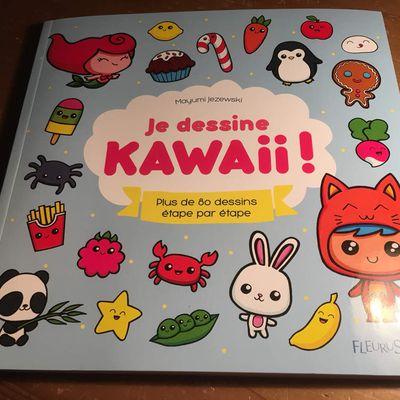 Je dessine KAWAII et autres achats...