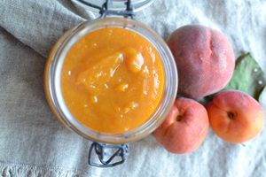Compote abricots pêches vanille #conserves
