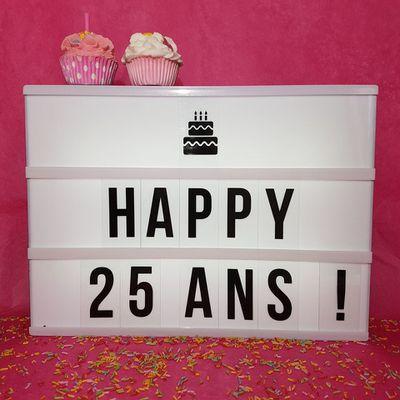 Les 25 ans de PASSION BEAUTE et ses PROMOS !