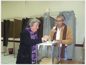 Saint André les Alpes: L'élection départementale a été très serrée