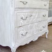 14 DIY Painted Dresser Projects - The Graphics Fairy
