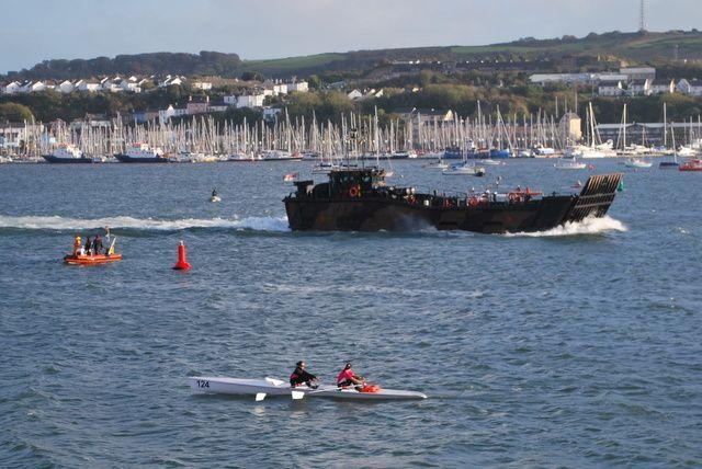 Championnat du monde d'aviron de Mer !