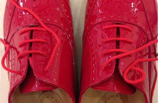 Comme une envie de souliers vernis [Samedi Mode]