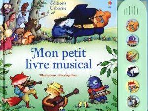 Mon petit livre musical pour le soir.