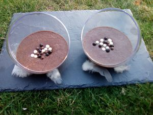 Mousse au chocolat super légère