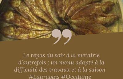 Lauragais d'Autrefois (136) : les repas du soir à la métairie
