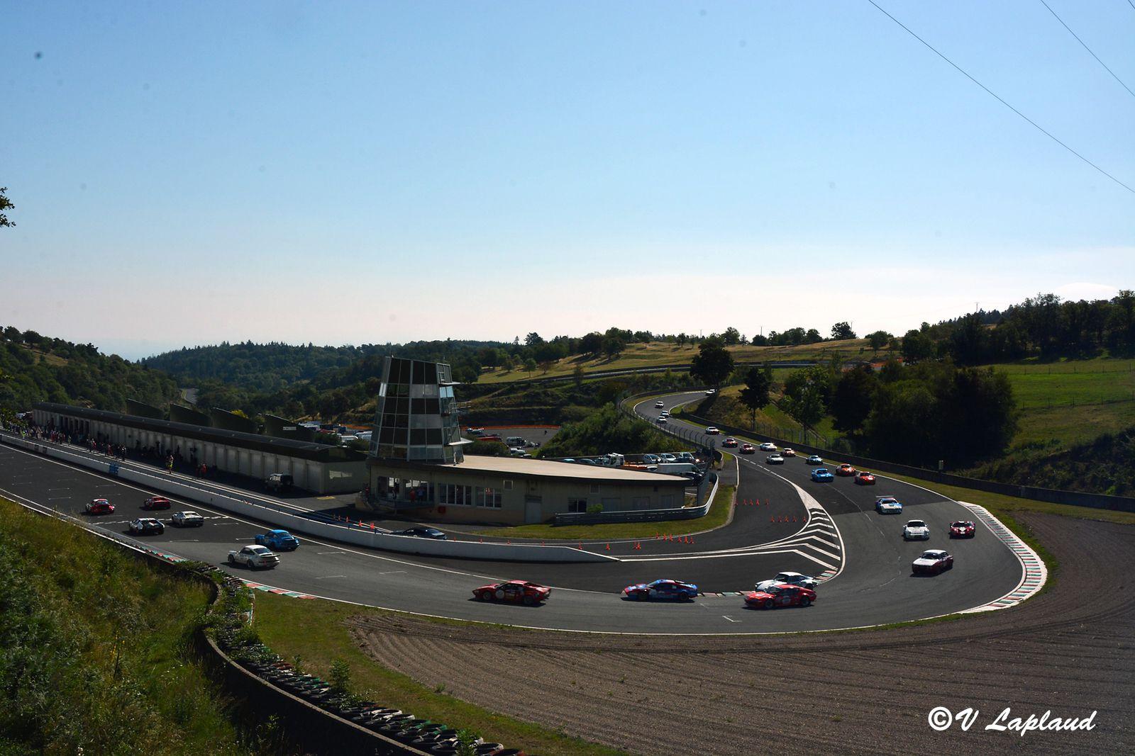Départ plateau 5, Charade, Tour Auto 2020.