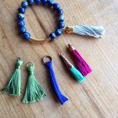 Love My Art Jewelry: Tassel-ations......