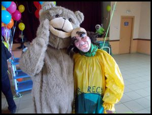 Papouln'Ours et M.Recyclage