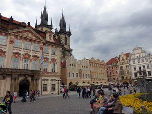 Avec les amis du clos à PRAGUE(2)