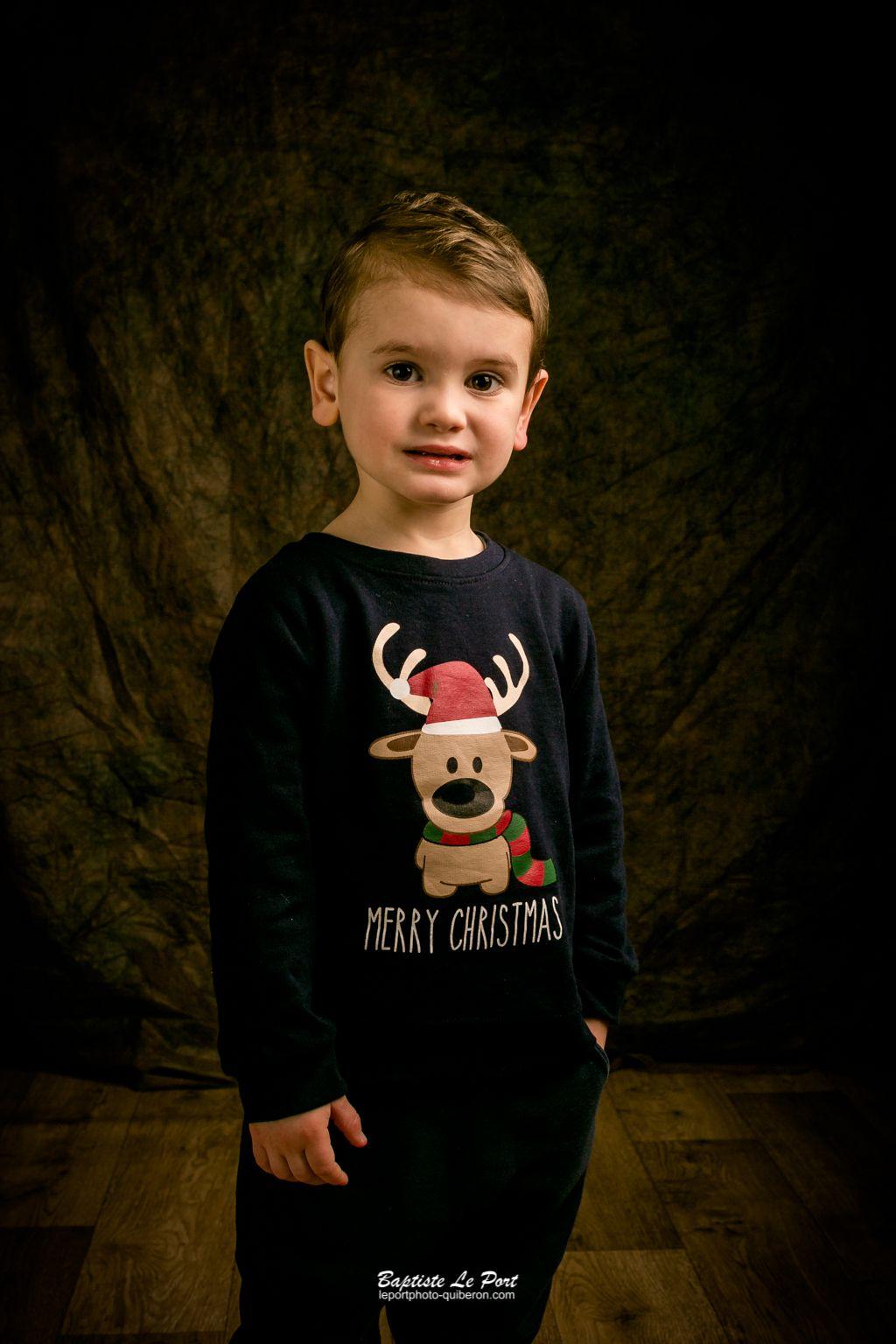 26 décembre - Portrait studio des enfants Daoust