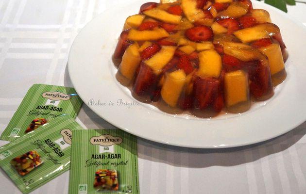 SOLEIL Melon, Fraises, Rose