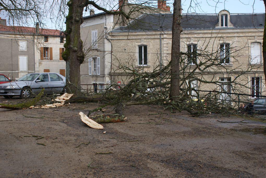 Quelques photos du passage de la tempête