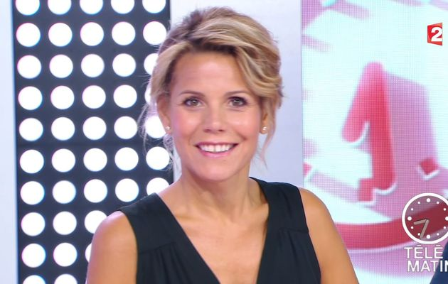 LAURA TENOUDJI @lauratenoudji ce matin @telematin @France2tv #vuesalatele