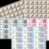 Maths : Les euros à manipuler - Mes tresses D Zécolles