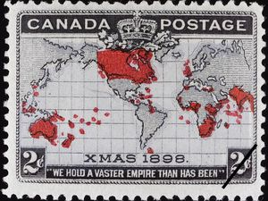 Canada imperial postage 1898