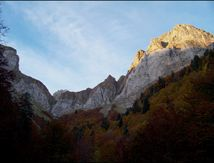 En haute vallée d'Aspe à la Llana de la Garganta et la Llana del Bozo