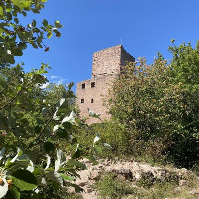 Les trois châteaux d'Eguisheim en Alsace