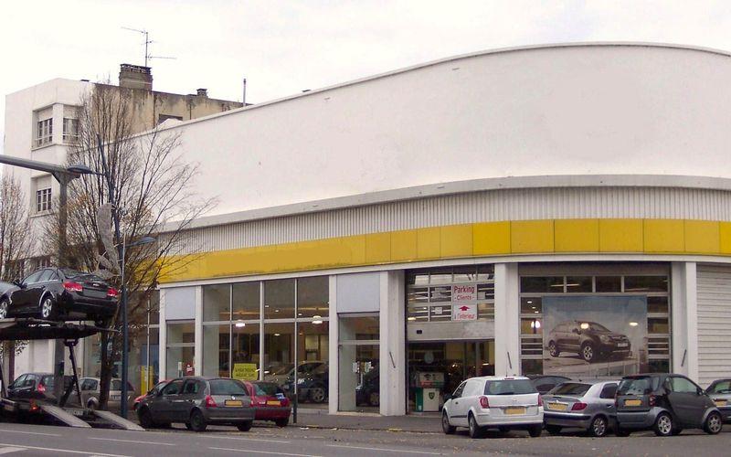 Alerte patrimoine, Garage Opel, Saint-Cyprien, Toulouse