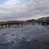 le port de Boulogne à marée basse , et déversement de la Liane dans le port - crea.vlgomez. Victoria Lynn , photographe et bricoleuse touche à tout.over-blog.com
