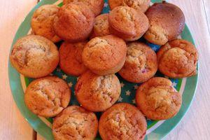 La recette facile et rapide des muffins à la fraise