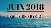 Guidance Juin 2018 - Oracle de Krystal